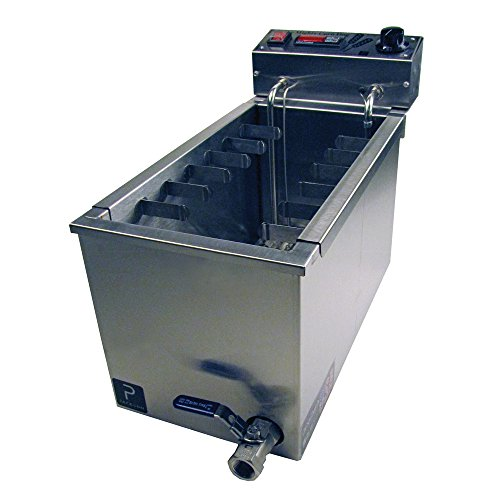 Paragon Mighty Corn Dog Fryer Machine for Professional Concessionaires Requiring Commercial Quality & Construction 37.5 Pound Oil Capacity 3000 Watts Electric 220 Volt Requires 6-15 Receptacle
