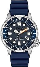 Citizen Eco-Drive Promaster Diver Quartz Mens Watch, Stainless Steel with Polyurethane strap, Blue (Model: BN0151-09L)