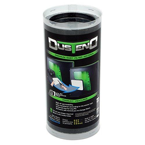 DustEND G1 950 x 155 x 1 mm Premium Dust Filter Material for PC Case/Fan - Black