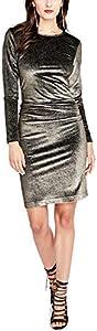 Rachel Roy Womens Velvet Bodycon Dress