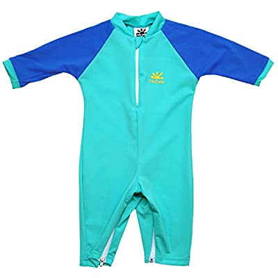 Nozone Fiji Sun Protective Baby Swimsuit in Aquatic/Blue, 6-12 Months