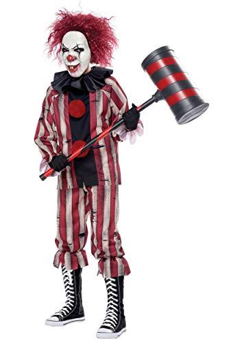 Boy's Nightmare Clown Costume Large