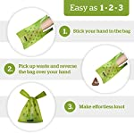 Pogi's Poop Bags - 300 Dog Poo Bags with Easy-Tie Handles - Scented, Leak-Proof, Biodegradable Poo Bags for Dogs 8