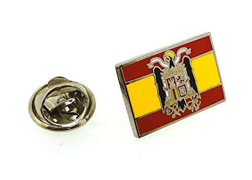 Pin de Traje del Bandera de España Aguila San Juan