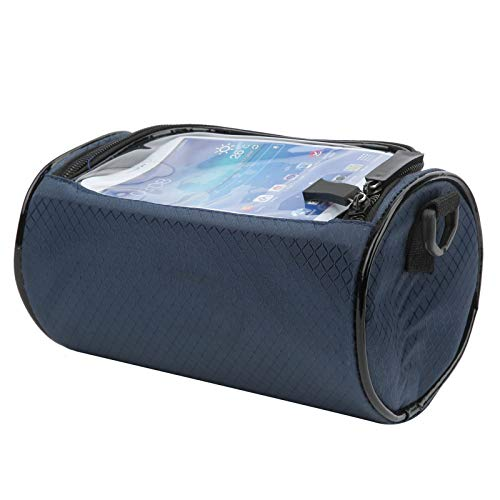 Tomanbery Bolso del Manillar de la Bici del Bolso del teléfono de la Pantalla táctil fácil de Usar y Quitar