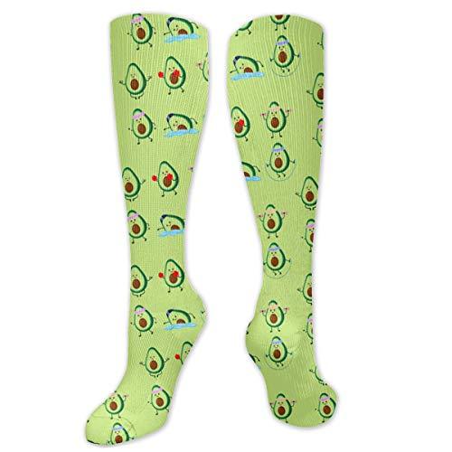Avocado Sports - Long Socks for Women - Nursing Performance Knee High Stockings