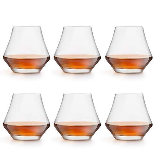 Libbey Vasos para Whisky Gles - 290 ml / 29 cl - 6 Piezas diseño Lujoso - Apto para lavavajillas