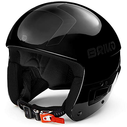 Briko Casque De Ski Vulcano Fis 6.8 Shiny Matt Black