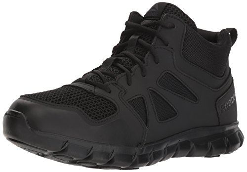Reebok Men's Sublite Cushion Tactical RB8405 Military & Tactical Boot, Black, 10.5 W US