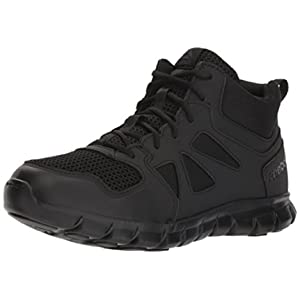 Reebok Men's Sublite Cushion Tactical RB8405 Military & Tactical Boot, Black, 13 W US