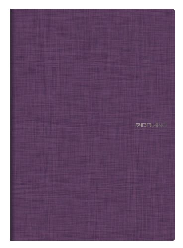 Fabriano by NU Notizheft, liniert, Format A4, Violett, 1Stück