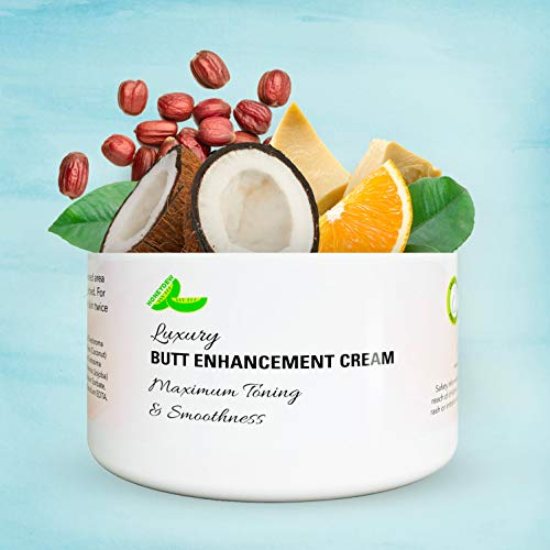 Anti Aging Butt Enhancement Cream - Coconut Oil Firming Cream and Cocoa Butter Butt Cream for Bigger Butt with Essential Oils - Shea Butter Cellulite Cream Butt Lift with Vitamin E and Collagen Cream