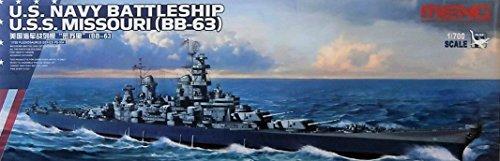 Unbekannt Meng PS de 004Maqueta de U.S. Marina Battleship U.S.S. Missouri (BB de 63)