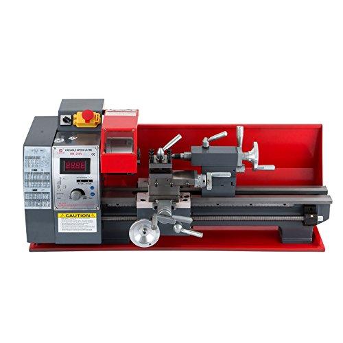 Metallbehandlung, Drehzahl, verstellbar, 210 x 400 mm, elektronisch, professionell, 50 – 2500 U/min - Holzmann ED400FD