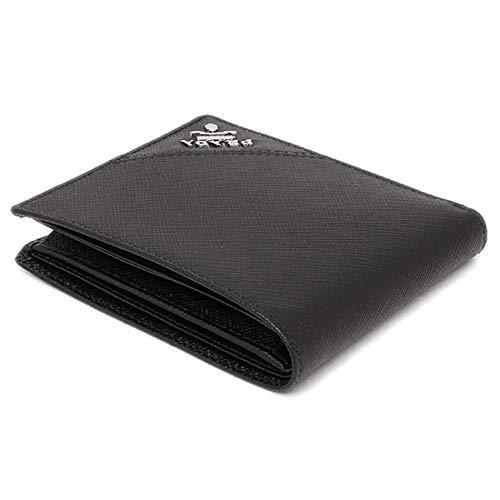 (プラダ)PRADA二つ折財布小銭入付#2MO738QMEF0002NERO並行輸入品[並行輸入品]