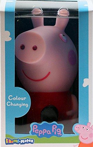 LED Peppa Pig cambia colore per cameretta dei bambini/luce notturna.