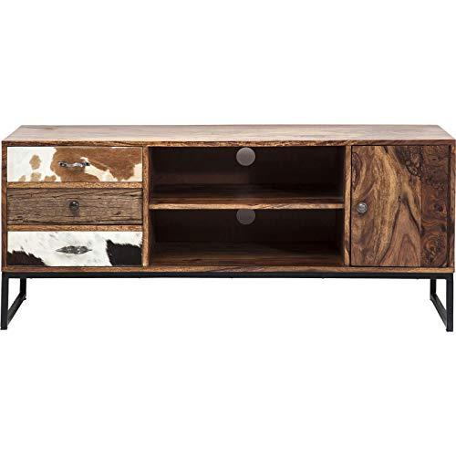 TV Konsole Rodeo, modernes, rustikales Lowboard, Sideboard braun (H/B/T) 60x140x40cm