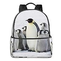 バックパック リュックサック ペンギンの親子 軽量 超大容量 多機能 人気 耐衝撃 おしゃれ ビジネス カジュアル リュック 通勤 通学 旅行 アウトドア 出張 メンズ レディース