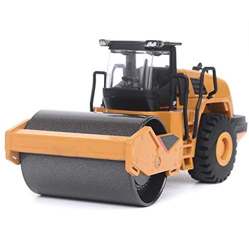 IIIL 1:50 Modelo Rodillo Camino Carretera Aleación, Metal Cargador Ruedas Juguete Vehículos Compactadores Ingeniería Juguetes para Regalos Niños
