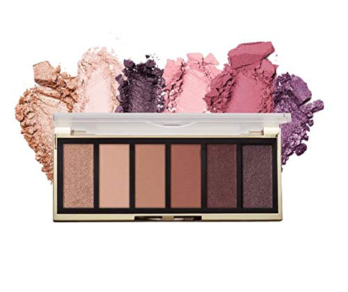 Most Wanted Eyeshadow Palette, 6 Cruelty-Free Matte Eyeshadow Colors for Long-Lasting Wear (Rosy Revenge)