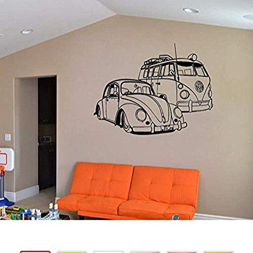 Auto muurkunst sticker vinyl muurschildering woonkamer decoratie sjabloon behang voor kinderkamer Home decor 118 * 165