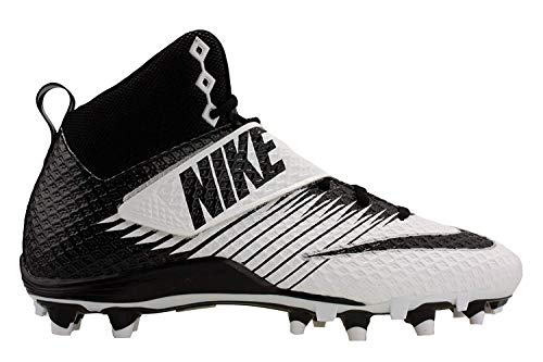 Nike Mens Lunarbeast Pro TD Football Cleats 11 White/Black