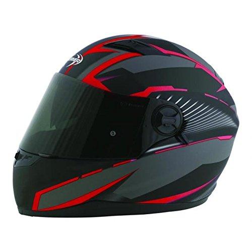 Stormer casco integral Pusher Xenon rojo mate talla Déco ro