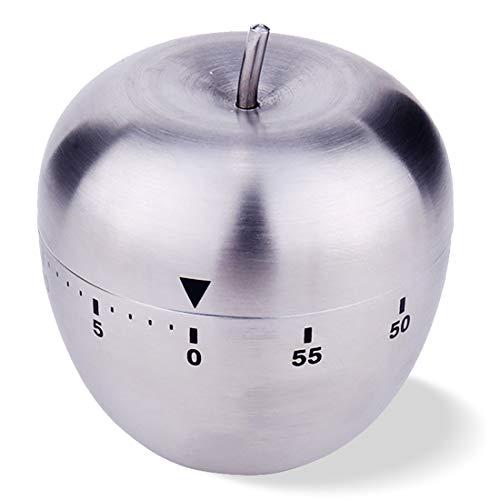 Temporizador Cocina Manzana Manual Alarma Giratoria MecáNica Giratoria De 60 Minutos Mecanico Cronometro Timer Cocina