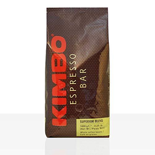Kimbo Espresso Bar Superior Blend 6 x 1kg Kaffee ganze Bohne