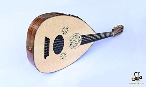 Türkische Professional Hälfte Schnitt E-Oud UD-Saite Instrument Oude # 4