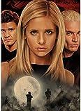 PAODEKUAI Leinwand Dekor Poster Buffy The Vampire Slayer