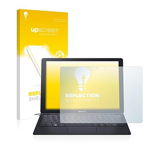 upscreen Entspiegelungs-Schutzfolie kompatibel mit Samsung Galaxy Tab Pro S 12.0 – Anti-Reflex Bildschirmschutz-Folie Matt