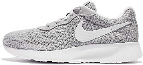 Nike Damen WMNS Tanjun Sneaker, Grau (Wolfgrau/Weiß), 38 EU