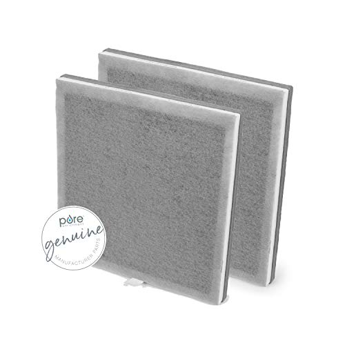 Pure Enrichment Genuine 3-in-1 True HEPA Replacement Filters for The PureZone Air Purifier (PEAIRPLG) - 2-Pack