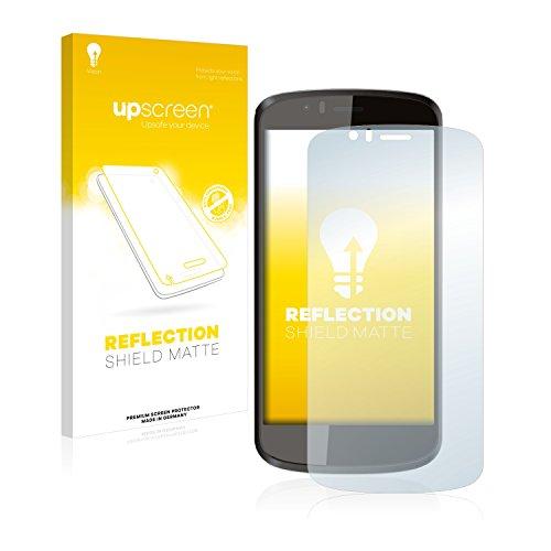 upscreen Entspiegelungs-Schutzfolie kompatibel mit Archos 50 Cesium – Anti-Reflex Bildschirmschutz-Folie Matt