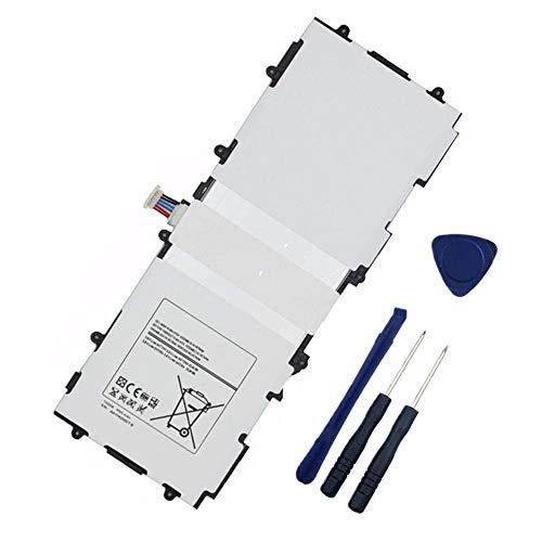 WXKJSHOP - Batería de repuesto compatible con Samsung Galaxy Tab 3 10.1 GT-P5210 GT-P5200 GT-P5220 GT-P5213 P5210 P5200 P5220 P5213 T4500E T4500C T4500U AAAD503TS/7-B AA1D625AS/7-B GH43-03922A