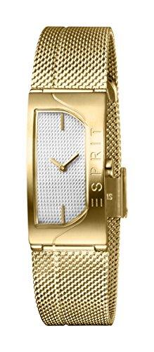 Esprit Damen Analog Quarz Uhr mit Edelstahl Armband ES1L045M0035