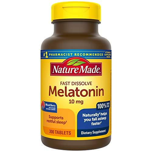 Nature Made Fast Dissolve Melatonin 10 mg