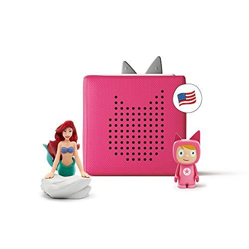Toniebox Pink Mermaid Educational Music Toy