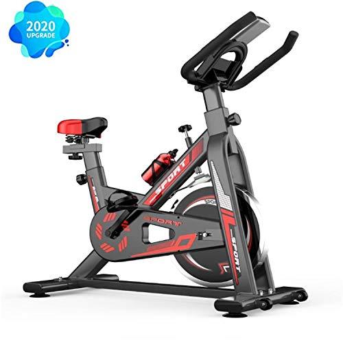 Baaaaaaa fietstrainer met traploze magneetweerstand, hometrainer, indoor cycling bike, fitnessfiets, in hoogte verstelbaar