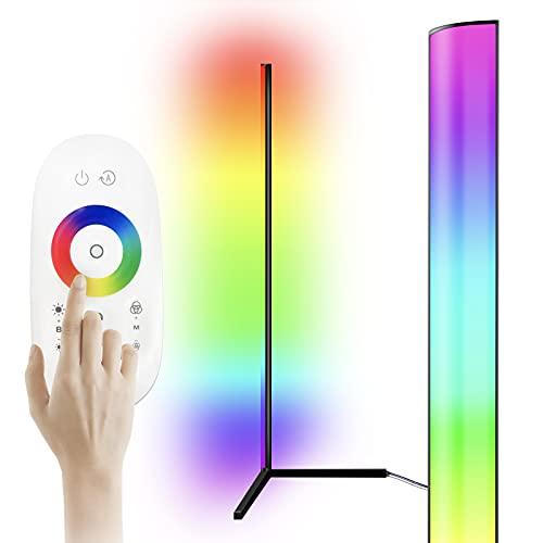 Fousômo LED RGB Corner Floor Lamp