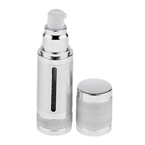 perfeclan 30ml Flacons Pulvérisateur en Plastique Flacons Réutilisables - Argent