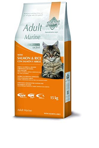 Dibaq Food for Cats Naturally Better (Dnm) Marine Salmon and Rice – 1 Bag
