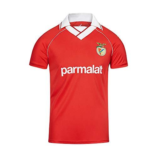 Benfica Herren Sl Parmalat Jersey Trikot, Rot/Weiß, 2XL