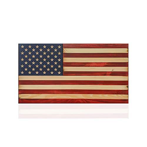 Wooden American Flag - Flags of Valor (Medium - 24.5