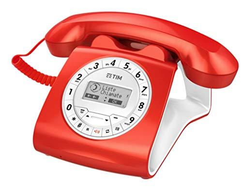 Tim Sirio Classic Telefono a Filo, Rosso