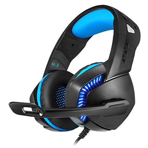 Cosmic Byte H3 Gaming Wired Headphone With Mic For Pc, Laptops, Mobiles, Ps4, Xbox One (Blue)