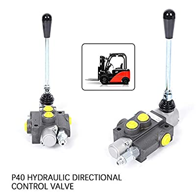 Control Valve TBVECHI 1 Spool P40 Hydraulic Directional Control Valve, Manual Operate, 13GPM from TBVECHI
