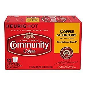 Community Coffee Coffee & Chicory Single Serve K- Cups 12 count  3 Pack