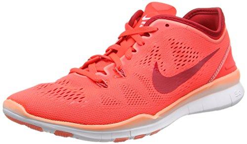 Nike Damen WMNS Free 5.0 TR FIT 5 Hallenschuhe, Orange (orange/weiss), 38.5 EU